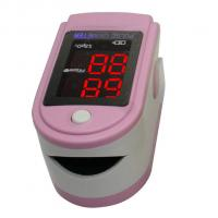 Wholesale Infant Pink Finger Tip Pulse Oximeters With SpO2 Probe from china suppliers