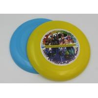 Wholesale Dog Toy PP Plastic Frisbee For Promotion , Round Shaped 23cm Flying Disk from china suppliers