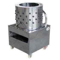 Quality Chicken Feather Plucker Poultry Feather Processing Equipment 590 x 600 x 900 mm for sale