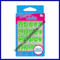 Buy cheap Christmas 3D french manicure fake nails For Sale Nail tips , Full Cover from wholesalers