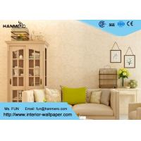 Wholesale Contemporary Living Room Wallpaper Modern Removable Wet Embossing Wallpaper from china suppliers