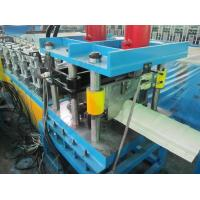 Wholesale 4Kw Cr12 Quenching Treatment Blad Ridge Cap Roll Forming Machine PLC Control System from china suppliers