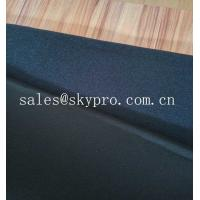 Fade Resistant Breathable Neoprene Fabric Roll Double - Sided Polyester Knitted