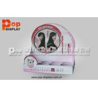 Wholesale Hair Care Products Corrugated Cosmetic Display Stands With Recycled Material from china suppliers
