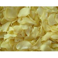 Buy cheap White Food Recipe Dehydrated Vegetables Dried Garlic Flakes SDV-GARF from wholesalers