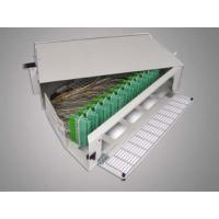 Wholesale 96 Cores SC-APC Fiber Optic Terminal Box Rack Mounting from china suppliers