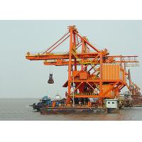 Wholesale Professional Grab Type Ship Unloader Crane , Ship To Shore Container Cranes from china suppliers