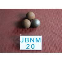 Wholesale 62-63HRC D20MM Mineral Processing  Grinding Steel Ball , Custom Steel Balls for Ball Mill from china suppliers
