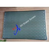 Quality FLC 48-30 / 2000 PWP Shale Shaker Screen for Solid Control / Desander Hookstrip Type for sale
