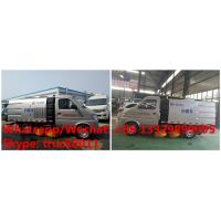 Buy cheap Chengli factory direct sale best price 4 wheels gasoline mini chang'an road sweeper truck 1.5cbm, street sweeper from wholesalers