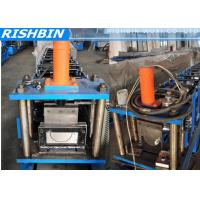"Wholesale 5 ""  6 ""  7 ""  Portable Mobile Round Gutter Roll Forming Machine For Half Round Gutter from china suppliers"