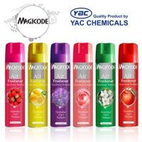 Wholesale Long Lasting Fragrance Dry Aerosol Air freshener Spray with Liac, Lily, Rose Smell from china suppliers