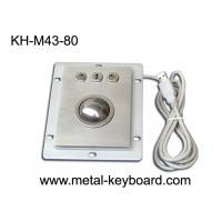 Wholesale USB Port Industrial Sealed Dust Proof Trackball Pointing Device with 3 Mouse Buttons from china suppliers