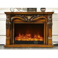 Wholesale Home Customizable Modern Electric Fireplace Wood Stainless Steel from china suppliers