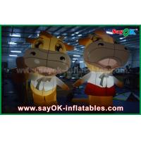 Wholesale Custom Animal Oxford Cloth Inflatable Cartoon Cattle Cow With LED Lighting from china suppliers