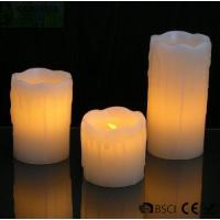 Wholesale 3 Set Flickering Electric Battery Operated LED Candles for Holiday / Wedding from china suppliers