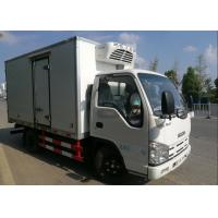 Wholesale ISUZU 2 Tons Ice Box Truck , Refrigerated Cold Room Truck For Frozen Fish Transportation from china suppliers