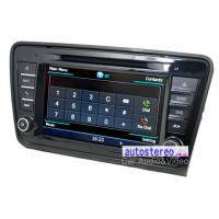 "Wholesale 8"" Car Stereo GPS Navigation Headunit for Skoda Octavia Car Stereo DVD Player from china suppliers"