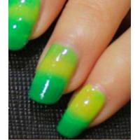 Wholesale Green to Yellow Changing Pigment Thermochromic Pigment Color to Color Nail Polish / Fake Hair from china suppliers