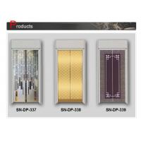 Wholesale Luxury Glass Steel Elevator Door 2000mm 2100mm Opening Height from china suppliers