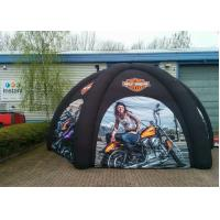 Wholesale Oxford Fabric 4 Legs Black Inflatable Spider Tent , Air Dome Tent from china suppliers