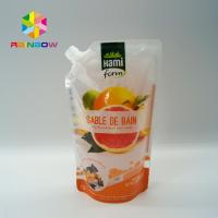 Wholesale BPA Free Plastic Packaging Bag Ziplock Reusable Drink / Water Food Containers from china suppliers
