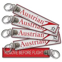 Wholesale Austrian Airlines Remove Before Flight keychains from china suppliers
