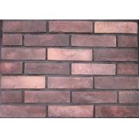 Wholesale Multicolor Antique Cement Faux Exterior Brick For Apartment / Hospital Building from china suppliers