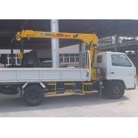 Buy cheap Weight Transportation Boom Truck Mounted Crane , 4.2 T.M 2.1 ton from wholesalers