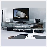 Wholesale Black Tempered/Toughened Glass for TV Cabinet/Stand from china suppliers
