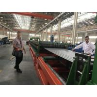 Wholesale Automatic Steel Silo Roll Forming Machine , Working Speed 0-15m/min Adjustable from china suppliers