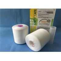 Wholesale Pure White Twist 50s/2 Sewing Polyester Knitting Yarn With Plastic Tube from china suppliers