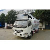 Wholesale hot sale Dongfeng 4x2 Feed Truck 12m3  chaochai 120hp , dongfeng brand 6tons livestock and poultry bulk feed truck from china suppliers