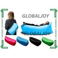 Wholesale Colorful Advertising Inflatables 200 x 90cm Pop Up Sofa Nylon Fabric Air Bed Sleeping Bag from china suppliers