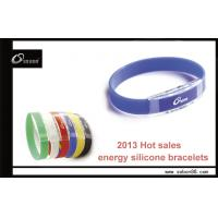 Wholesale Power balance silicone bracelet health magnetic clasp band from china suppliers