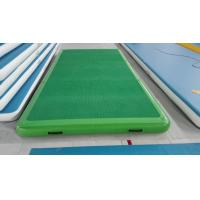 Wholesale PVC good quality inflatable floating dock in all colors and sizes from china suppliers