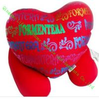 Wholesale Foam Custom Soft Toy Pillow For Children , Funky Heart Shape Throw Cushions from china suppliers