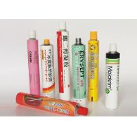 Wholesale Soft Empty Toothpaste Tubes , Colorful  Hand Cream Empty Aluminum Tubes from china suppliers