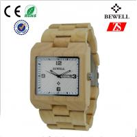 Wholesale Big Face Tense Wood Watch , 100% Natural Wooden Watch For Women And Girl from china suppliers