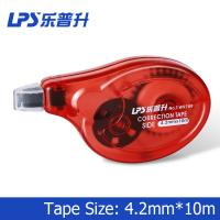 Wholesale Office Style Red Colored Correction Tape Plastic 4.2mm x 10m T-W9789 from china suppliers