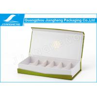 CMYK Printed Cosmetics Gift Box Magnetic For Essential Serum Packaging