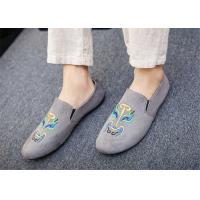Wholesale Black Gray Blue Loafer Slip On Shoes Driving Moccasins Shoes Breathable from china suppliers