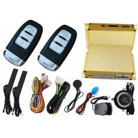 Wholesale Car Ignition Start Button Car Alarm Security System , RFID Emergency Unlock Feature from china suppliers