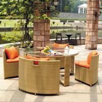 Wholesale Comfortable yellow patio outdoor furniture set FS-012 from china suppliers