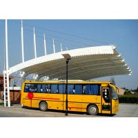 Wholesale Wind Resistant Car Canopy Tents Bus Stop Canopy Membrane Structure from china suppliers