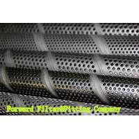 Wholesale Perforated Metal Tube For Filteration System , 304L Stainless Steel Spiral Welded Pipe from china suppliers