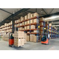 Buy cheap Metal Heavy Duty Pallet Racks Systems for Warehouse Storage Solutions from wholesalers