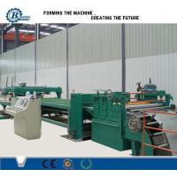 Buy cheap Adjustable Cut To Length Line 1800mm , Sheet Metal Slitting Machine from wholesalers