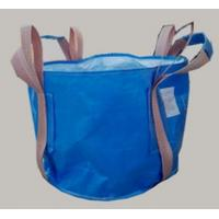 Buy cheap Two loop blue Circular FIBC bag with 4 lifting UV treated for transportation from wholesalers