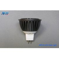 Wholesale MR16 4W Indoor LED Spot Light Bulbs Lamp Fixture , High Power Black Color from china suppliers